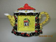 Mary Engelbreit Cherry Teapot Frame (Rare Find)