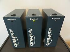 Lot Of 3 Alphasmart Acc Ah02 Hb Alpha Hub Withstandard Power Cables