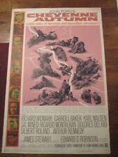 Cheyenne Autumn  -Original   40 x 60 Movie Poster  - James Stewart