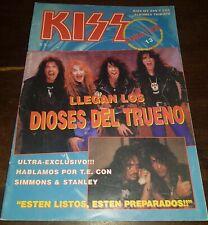 "KISS  ""FOREVER""  MAGAZINE #13 Argentina 1994 very rare - in Spanish"