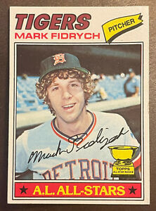 1977 Topps #265 Mark Fidrych RC Rookie Card Detroit Tigers