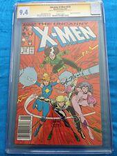 Uncanny X-Men #218 - Marvel - CGC SS 9.4 NM - Signed by Art Adams, Ann Nocenti
