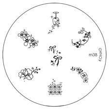 Konad stamping galería de símbolos m38 plate Nails Nail Art Stamp