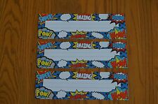 TCR 5588 Superhero Sayings Nameplates Classroom Labels Classroom Decorations