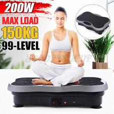 99-Level 200W Exercise Fitness Slim Vibration Platform Machine Trainer Body G