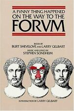 A Funny Thing Happened On The Way To The Forum (applause Musical Library): By...