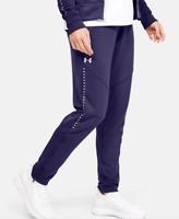 NWT $70 UNDER ARMOUR ColdGear Women's UA Knit Warm-Up Pants 1327445-500 Purple S