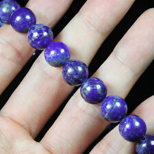 10mm Natural Lapis Lazuli Round Bead Bracelet Chain BLPa458