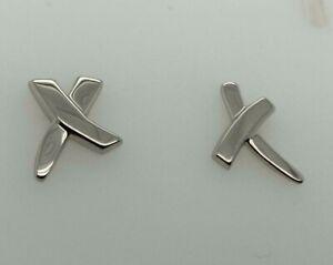 Tiffany & Co. Paloma's Graffiti X Stud Earrings