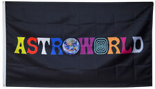 ASTROWORLD Travis Scott Flag Black 3x5ft Banner