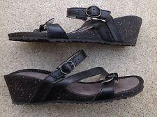 Teva Women's Ventura Wedge Modoc Rialto Slip On Sandals Size 9
