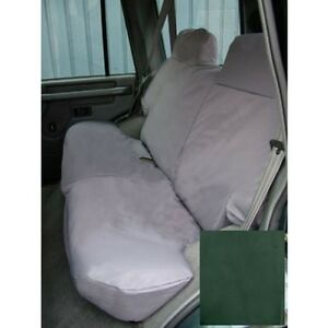 LAND ROVER DISCOVERY 1 REAR WATERPROOF SEAT COVERS SET IN GREEN PART DA2808GREEN