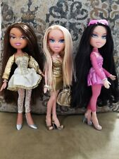 3 Bratz Dolls Lot. Bratz Twiins Peyton - Designed By Yasmin - Hair Style Cloe