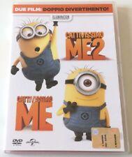 CATTIVISSIMO ME 1 + 2 FILM DVD ITALIANO EDITORIALE COME NUOVO