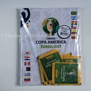 Copa America 2019 - Sealed Kit with Hardcover album + 12 packets