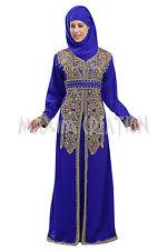 MODERN DUBAI GEORGETTE ARABIAN FANCY DESIGN BY MAXIM CREATION JILBAB DRESS 5765