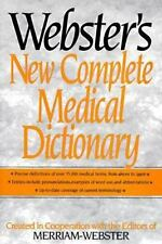 Webster's New Complete Medical Dictionary  Hardcover