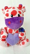 Applause Russ Berrie Giraffe Pink Purple Plush Stuffed animal