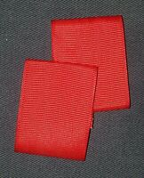 B00191 2 LOOPS PRE-OWNED BSA RED BOY SCOUT SHOULDER LOOPS  -