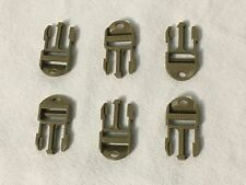 """ITW NEXUS GTSR WAVELOC 3/4"""" SIDE RELEASE MALE REPLACEMENT BUCKLE COYOTE LOT of 6"""