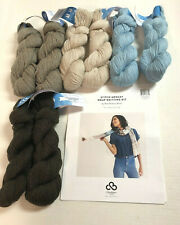 Craftsy/Bluprint Knitting Kit - Complete with pattern and yarn - Gorgeous scarf!