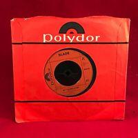 "SLADE My Friend Stan 1973 UK 7"" vinyl single EXCELLENT CONDITION"