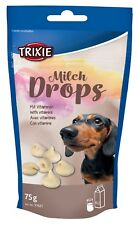 Milk Drops Dog Treat Snack with essential vitamins 75g