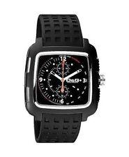 Schwarze Armbanduhren im Luxus-Stil mit 12-Stunden-Zifferblatt