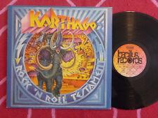 KARTHAGO Rock 'N Roll Testament LP QUAD Bacillus 1975 Germany Press KRAUTROCK