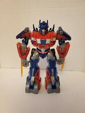 Transformers Optimus Prime Power Bots Talking Light Up Action Figure Hasbro 2009