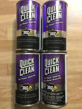 4 Cans BG 108 QUICK CLEAN For Power Steering System
