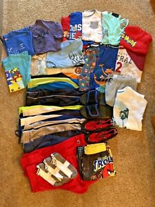 BOYS SIZE 10/12 SPRING/SUMMER CLOTHING LOT~31 PIECES~CLEAN & GREAT CONDITION!!!!