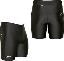 More Mile Boltz Sprint Short Mens Running Shorts - Black XS