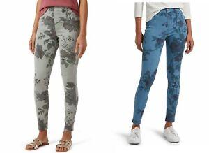 Hue Women's Faded Floral Ultra Soft Denim High Waist 7/8 Legging S, L, XL