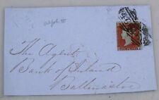 Mayfairstamps Great Britain Penny Red to Bank of Ireland Cover wwh35269