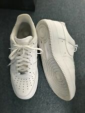 Nike Air Force 1-Blanco-Talla 9.5UK - Usada
