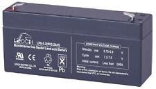 BATTERY LEAD ACID AGM 6V 3.2AH Batteries Rechargeable