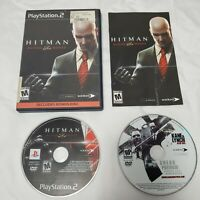 PS2 Hitman: Blood Money (Sony PlayStation 2, 2006) With Manual Tested Works