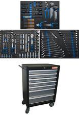 BGS Werkstattwagen 4062 bestückt mit 263 Werkzeugen 7 Schubladen