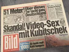 Bildzeitung BILD 24.03.1988 * Das besondere Geschenk zum 30. 31. 32. Geburtstag