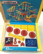 Meccano Erector Junior 221201 Plastic Construction Set 62 Parts NIB Free Ship