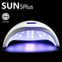 SUN 5 Plus 48W LCD display Dual UV LED Makeup Nail Lamp Nail Dryer Bottom Timer