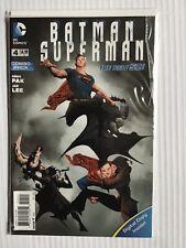 BATMAN SUPERMAN # 4 COMBO PACK EDITION NEW 52 DC COMICS
