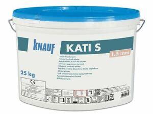 Knauf Silikat-Scheibenputz Kati S 25 Kg Putz Fassadenputz Außenputz