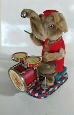 Vintage Collectible Automate Elephant Musicien 1950 Made In Japan Alps