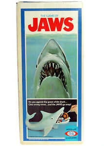 Vintage 1975 Ideal JAWS The Great White Shark Game Factory Sealed Box MISB AFA