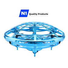 N1 UFO Drone RC Infrared Sensor Induction Aircraft Quadcopter Flying Toy 360°
