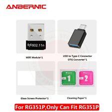 Anbernic RG351P Tipo C Puerto USB/Película De Vidrio/módulo Wifi/Bolso Para RG351P