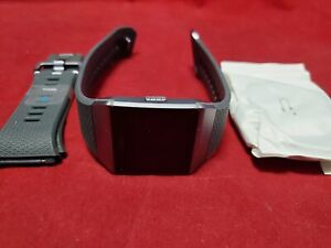 Fitbit Ionic FB503WTGY Activity Tracking - Gray/Silver - NEW OPEN BOX