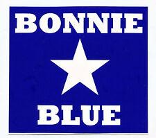 Aufkleber Bonnie Blue Sticker CSA Rebel Konföderierte Südstaaten LS